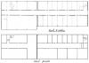 Rzut II piętra i piwnic